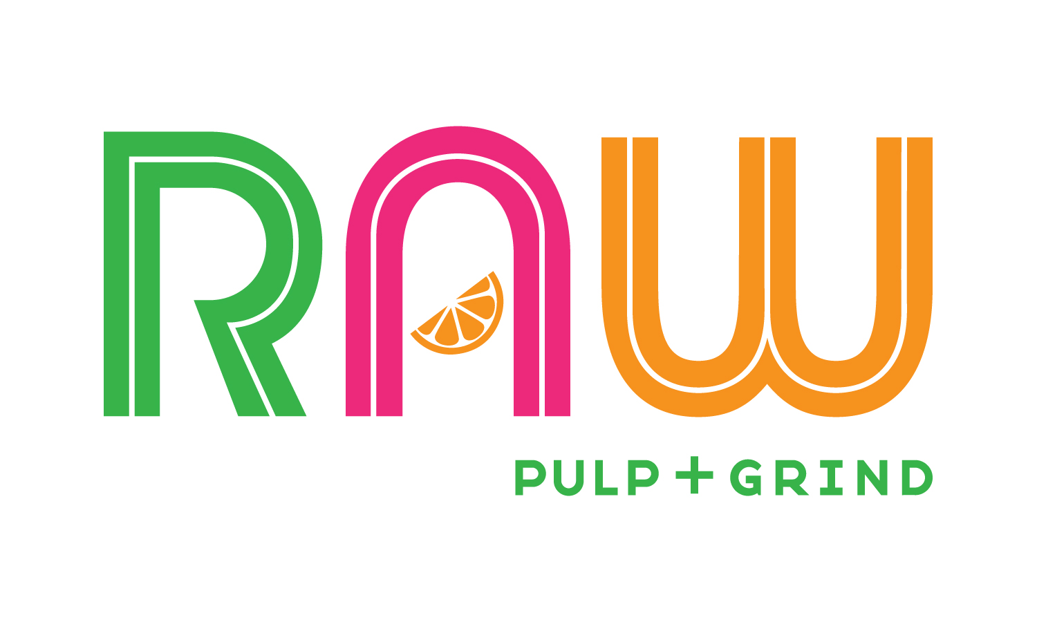 Raw Pulp and Grind Logo